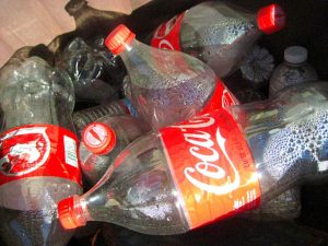 Coca Cola Single Use Plastic Bottles | Drawing United