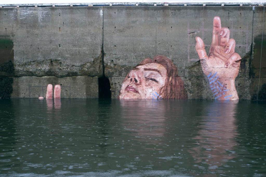Sean Yoro - Sea Level Rise | Drawing United