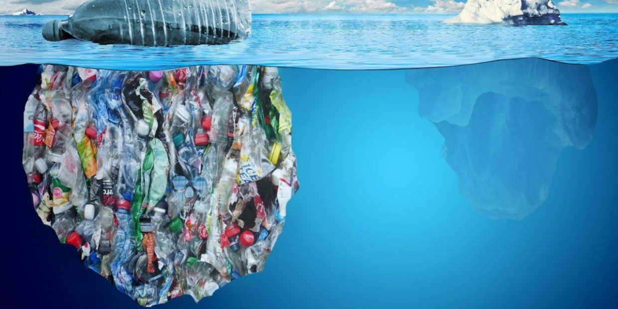 Mark Petty, through his art, aims at putting in the spotlight the issue of plastic entering our oceans.