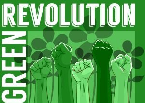 GREEN REVOLUTION by Drawing United studio