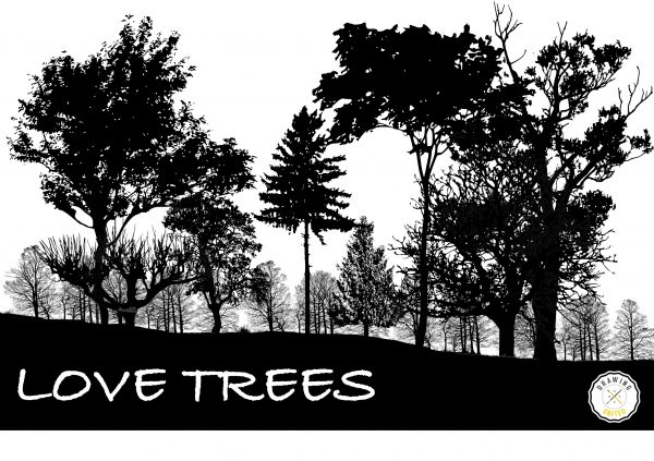 Design used for the Love Tree t-shirt