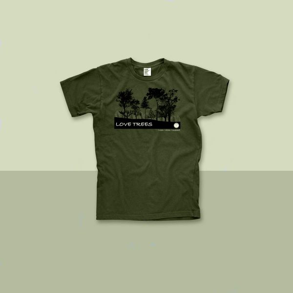 A picture of the LOVE TREES t-shirt